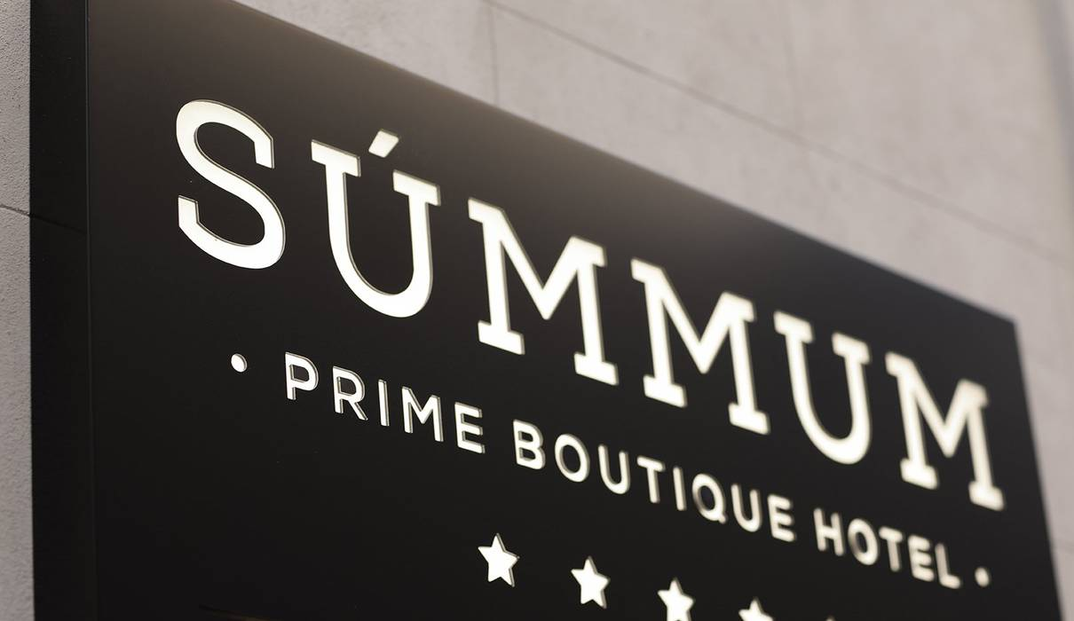 Ingangsteken Hotel Summum Prime Boutique Palma